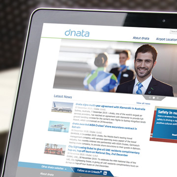 dnata.com Website Redesign