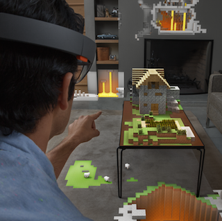 Microsoft unveils the HoloLens
