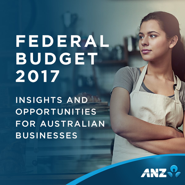 PENSO explains Australian Federal Budget to small business on behalf of ANZ